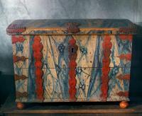 Kista från Övertårneå, gjord 1767. Foto Mats Landin, Nordiska museet.