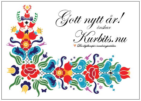 Gott Nytt År önskar Kurbits alla fina läsare. På återhörande under 2012!