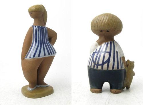 Figurinerna Dora och Malin från