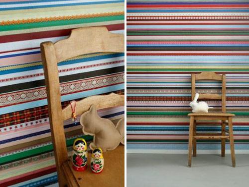 Holländska Studio Ditte säljer dessa vansinnigt fina tapeter. (Bilderna är lånade från www.studioditte.nl)