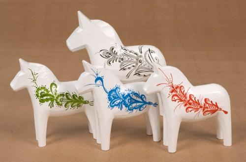 Grannas Olssons nya serie hästar Kurbitz. (Foto www.grannas.se)