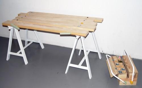 Snickarglädje. Av Åsa Agerstam, formlinjen på Beckmans. (Foto www.beckmans.se)