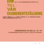 HV Skolas examensaffisch.