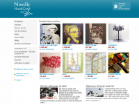 Den nystartade sajten www.nordichandcraft.com säljer all typ av kreativt skapande.