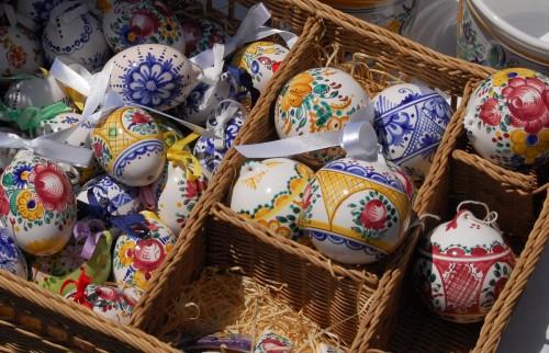 Traditionella slovakiska ägg. (Foto Kurbits)