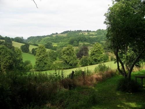 Utsikt över nejden...kullarna kring engelska Bath är fantastiska. (Foto Kurbits)