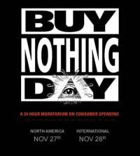 Buy Nothing Day firas idag och imorgon i västvärlden.
