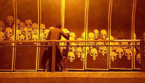 Städgraffiti från England. (Foto Inhabitat.com)