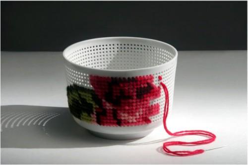 Designgruppen Industreal säljer materialsatser med hål i. (Foto www.industreal