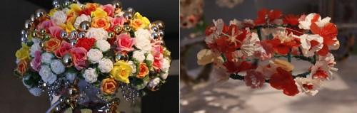Krona och krans - smycka till fest och bröllop visas på Sigtuna museum just nu. (Foto www.sigtunamuseum.se)