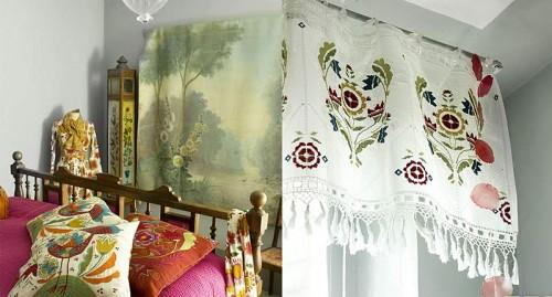Vackra interiörbilder från katalogen. Ur kollektionen Dala-Floda som är min favorit. (Foto www.gudrunsjoden.com)