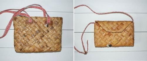 Vintagenäverväskor under märket SIS Design. (Foto www.sisdesign.se)