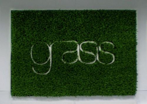 Gräsmatta där du vill ha den, från designbyrån Nine 99 Design. (Foto http://blog.nine99design.com)