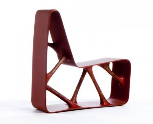 Christoffer Agnells stol Rosepainting chair. (Foto www.christofferangell.com/