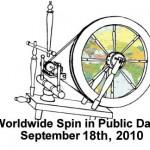Passa på och spinn lite i helgen vetja! Offentliga världsspinnardagen serru. (www.wwsipday.com)