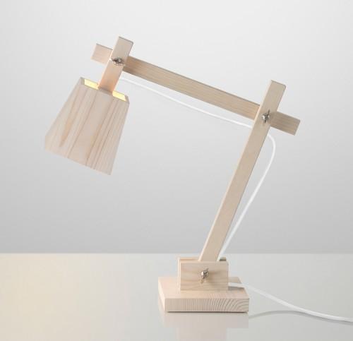Stiliga lampan Wood från TAF arkitektkontor, för Muuto. (Foto Muuto)