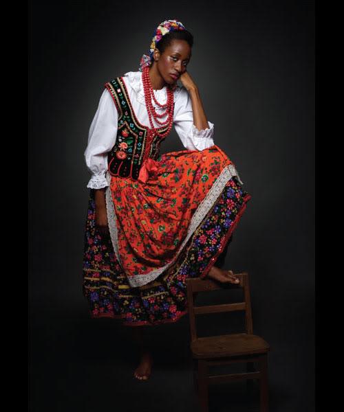 Bild av fotografen Piotr Sikora på temat New Folk i ett polskt samarbete. (Foto Piotr Sikora /designtraveller.blogspot.com)