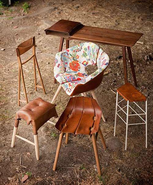 Möbler av Tortie Hoare. (Foto www.dezeen.com)