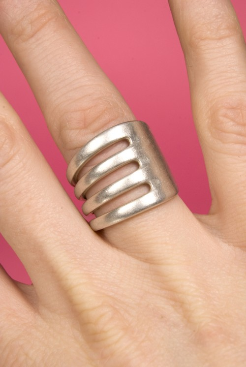 Ring av gaffel, av Elin Hedlund på Beckmans. ( Foto www.beckmans.se)