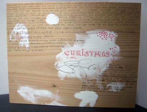 God jul från Jens Fager. (Foto Kurbits)
