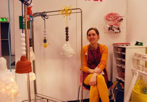 Elisabeth Billander bor och arbetar i Göteborg. Hon är medlem i Konsthantverkscentrum. (Foto Kurbits)