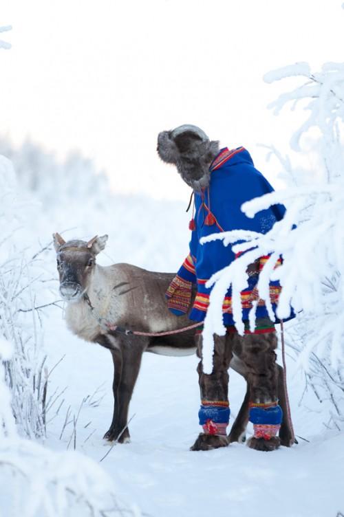 Fantastiska samedräkter! (Foto Laila Durán, Scandinavian Folklore)
