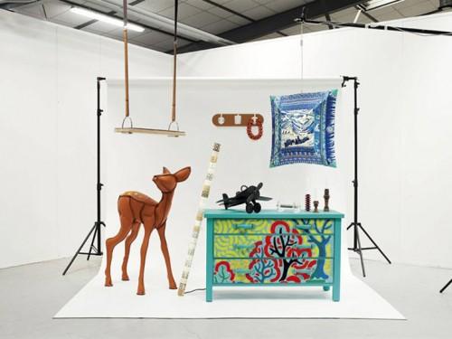 Hermés första återvunna kollektion, Petit h. (Foto www.hermes.com)