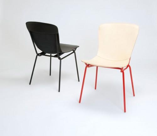 Mjuka Hammock Chair, i läder från Tärnsjö garveri, av Axel Bjurström. (Foto www.bjurstrom.com)