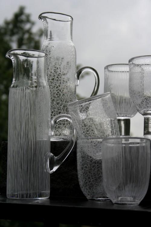 Bruksglas av Malin Svensson, Glastornet i Blekinge. (Foto Malin Svensson)