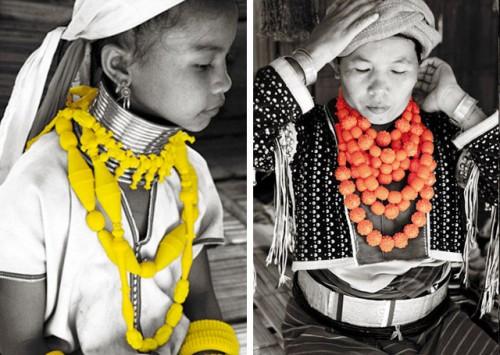 Thailändska Ek Thongprasert gör kläder och smycken. Kollektionen Ethnic i silikon och bjärta färger leker med våra föreställningar om hur juveler egentligen ska se ut. Och vilka som ska bära dem. (Foto Ek Thongprasert)