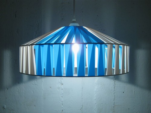 Lampan Yngve från Cecilia Åhléns företag Stringlampan. (Foto www.stringlampan.se)