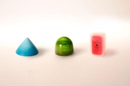 Framtidens förpackningsdesign? Snyggt och fascinerande av Anna Glansén. (Foto Anna Glansén)