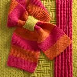 Halsdukar av Ann-Mari Nilsson. (Foto Hemslöjdens förlag)