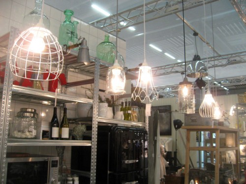 Och dagens sista Formex - fina lampor från House Doctor. (Foto Kurbits)