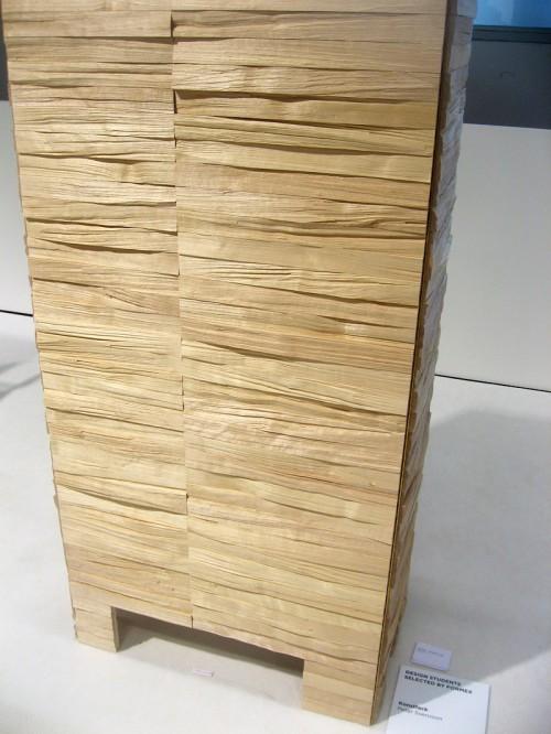 Ett rasande vackert träskåp gjort av Peter Svensson. (Foto Kurbits)