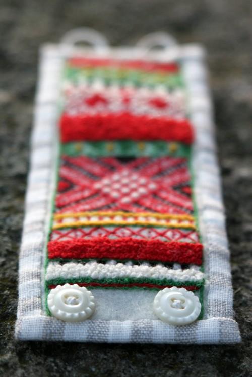 Armbandet Mora av Lina Holm, se mer på hennes fina sajt www.linaholm.com/. (Foto Lina Holm)