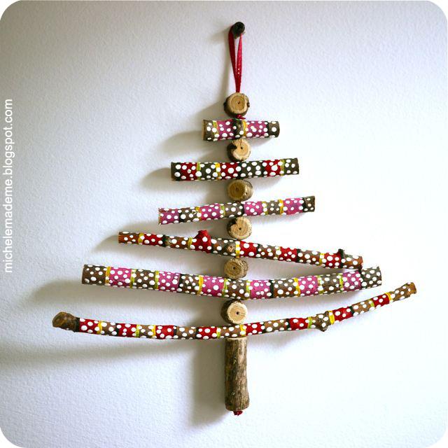 Entrez et tapons la causette (archive 7)... - Page 27 Wooden-Stick-Christmas-Tree-2