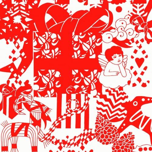 Julform på Röhsska i Göteborg i helgen. Många duktiga formgivare på plats! (Illustration till evenemanget)