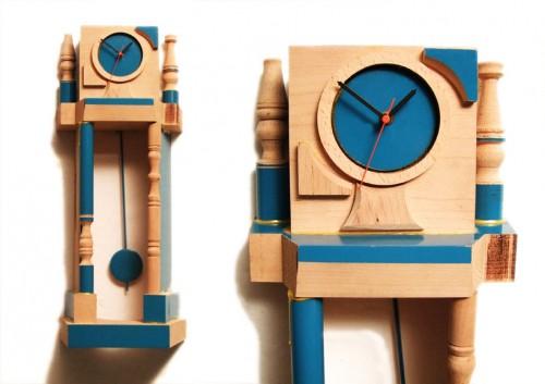 Klockorna Orlogin av israeliske designern Ben Broyde. (Foto Designboom)