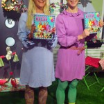 Ann Söderlund och Isabelle McAllister har tillsammans med Christina Breeze Le Guellaff gjort en bok för alla kalaspysslare därute. (Foto Kurbits)