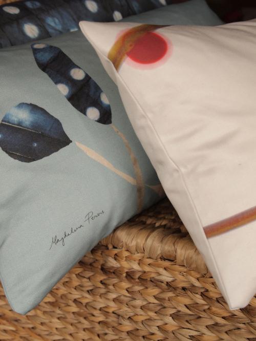 Magdalena Peres textilier,  bilden är lånad från hennes blogg. (Foto Magdalena Peres)