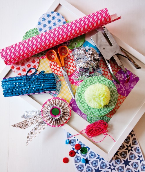 Papper i alla utföranden och former gör oss extra kreativa under 2012. Här ett smakprov från danska Rie Elise Larsen. (Foto Rie Elise Larsen)