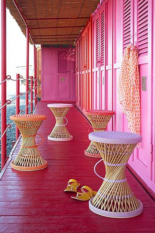 Och kolla in pallarna! Från Pink&More. (Foto Pink&More)