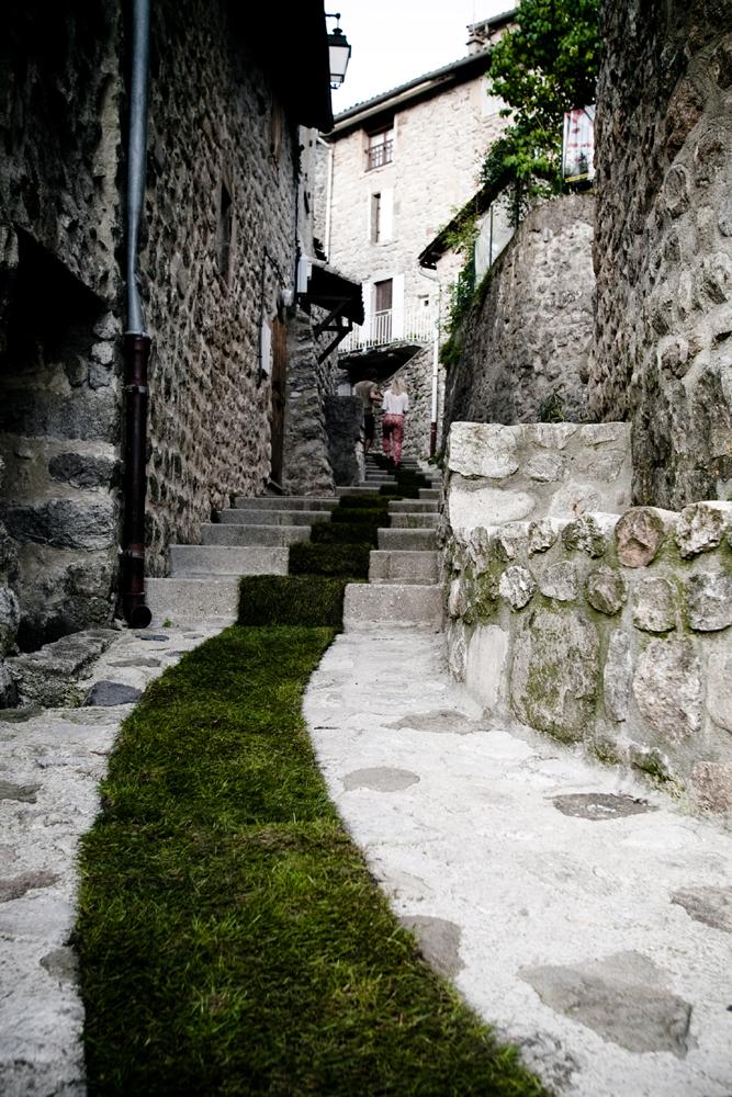 Mossgraffiti; den gröna mattan