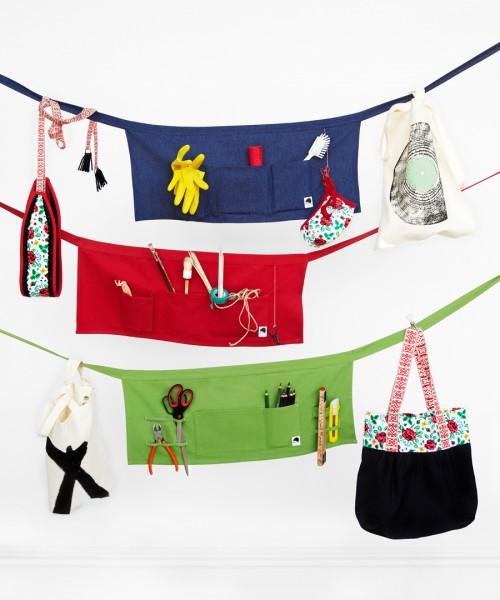Väskor och accessoarer från Nordic Design Collectives formgivare. (Foto Jenny Unnegård)
