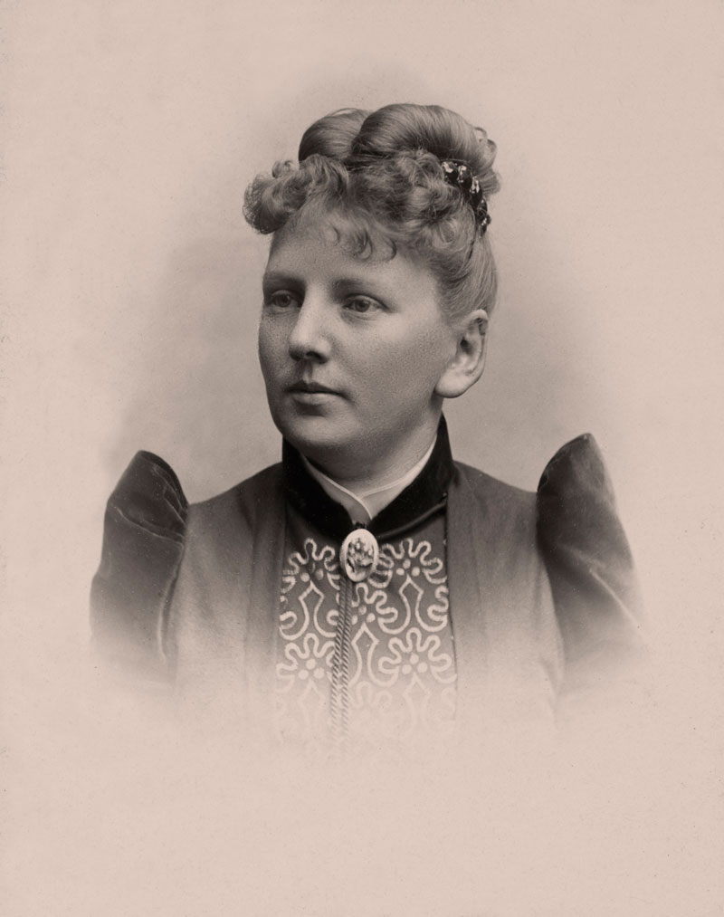 Lilli Zickerman, 1858-1949. Hemslöjdsrörelsens och Föreningen för Svensk Hemslöjds grundare. (Foto okänd)