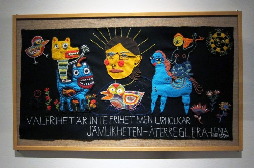Broderiet heter Lena Andersson, av Sara Granér och Hanna Stenman. (Foto Kurbits)