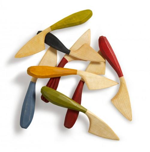 Smörkniven Smärt. Jögge Sundqvist lär ut hur du täljer en smörkniv därhemma. Ur boken Tälj för kök och trädgård. (Foto Thomas Harrysson)