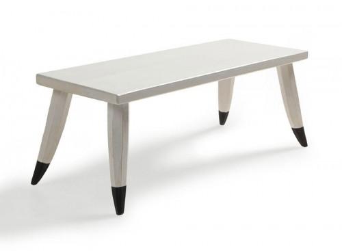 Okej, en bänk är kanske lite överkurs...har med rätta svårighetsgrad Svår. Men ändå. Gjord av Jögge Sundqvist, ur boken Tälj för kök och trädgård. (Foto Thomas Harrysson)