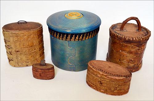 Samling ur utställningen på Hälsinglands museum. (Foto Hälsinglands museum)